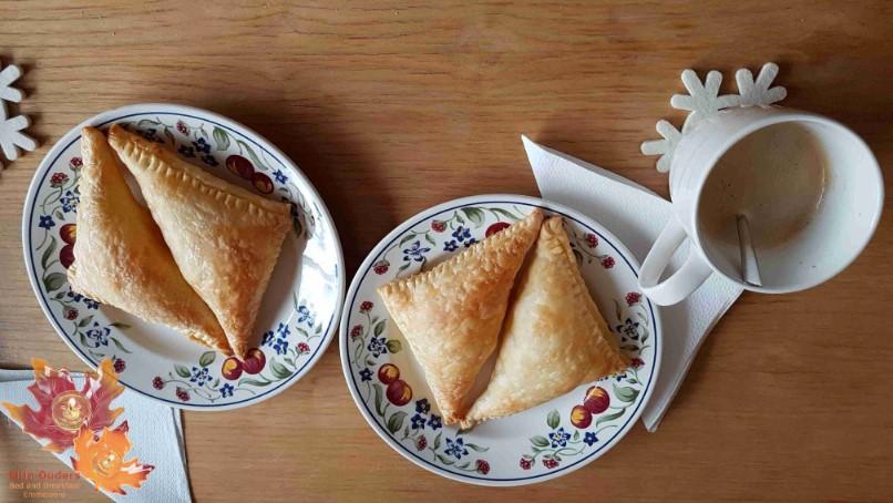 Baniza (Bulgaars gevuld bladerdeeg met feta)